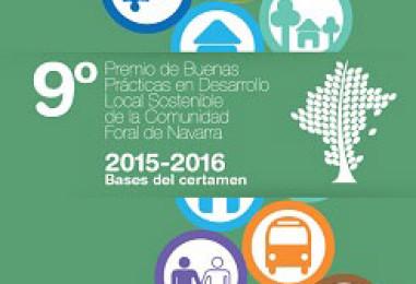 Convocatoria IX Premio de Buenas Prácticas en Desarrollo Local Sostenible de la Comunidad Foral de Navarra