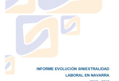 Análisis gráfico de la Evolución de la Siniestralidad Laboral en Navarra